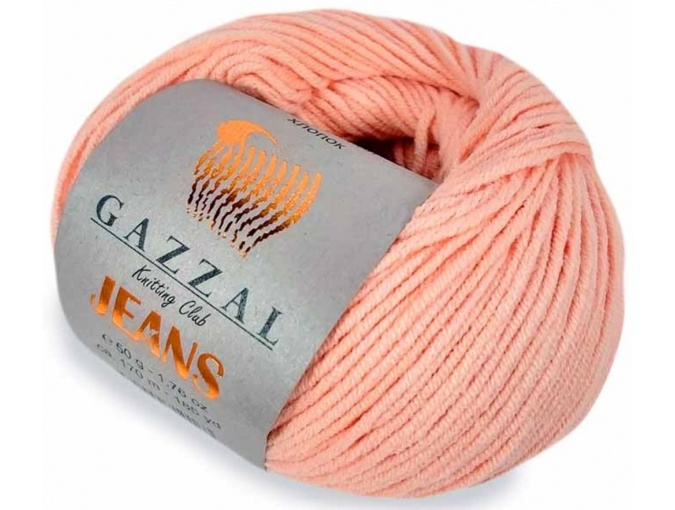 Gazzal Jeans, 58% Cotton, 42% Acrylic 10 Skein Value Pack, 500g фото 18