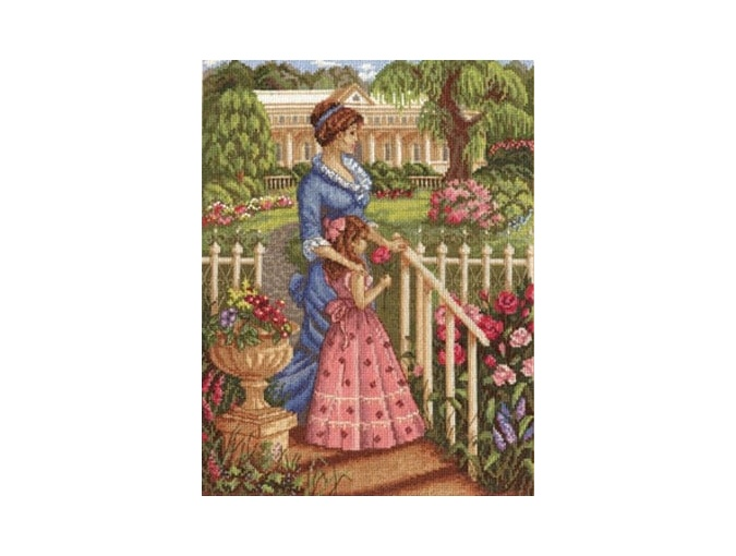 In a Blossoming Garden Cross Stitch Kit фото 1