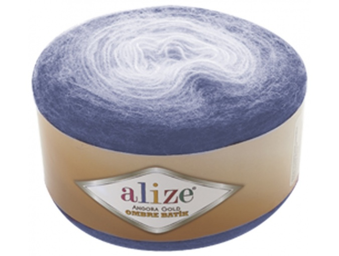 Alize Angora Gold Ombre Batik, 20% Wool, 80% Acrylic 4 Skein Value Pack, 600g фото 13