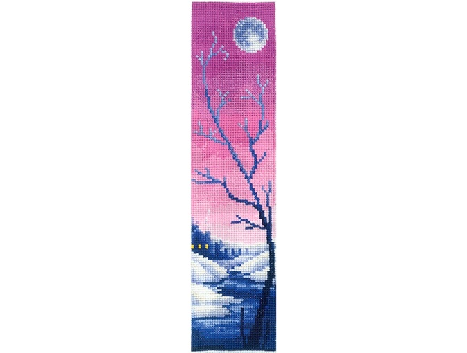 Bookmarks. Lilac Twilight Cross Stitch Kit фото 1