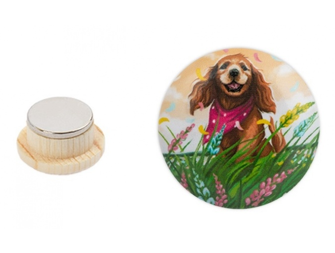 Magnetic Needle Minder №32 Dog in the Field фото 4