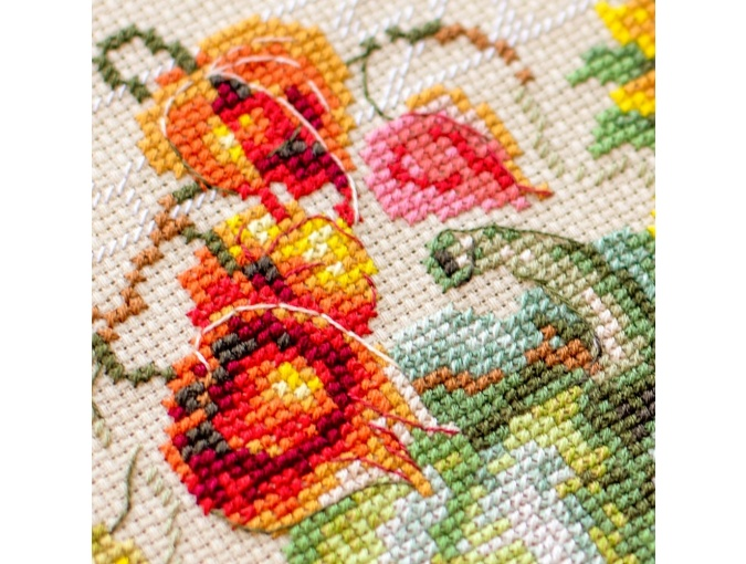 Autumn Gifts Cross Stitch Kit фото 7