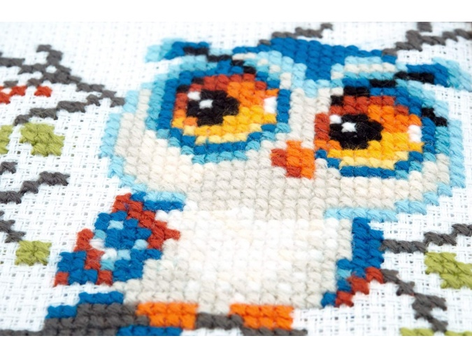 Scops Owl Cross Stitch Kit фото 4
