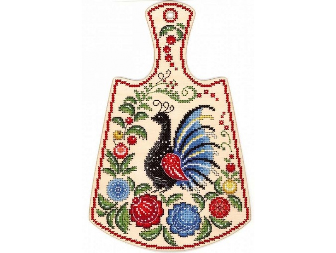 Painted Peacock Embroidery Kit фото 1