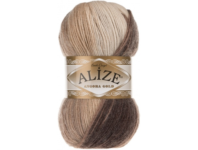 Alize Angora Gold Batik, 10% mohair, 10% wool, 80% acrylic 5 Skein Value Pack, 500g фото 58