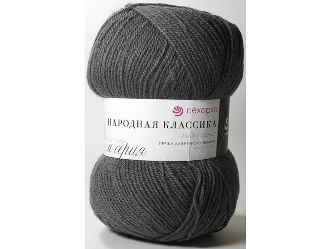 Pekhorka Folk Classics, 30% Wool, 70% Acrylic 5 Skein Value Pack, 500g фото 22