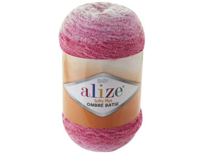 Alize Softy Plus Ombre Batik, 100% Micropolyester 1 Skein Value Pack, 500g фото 4