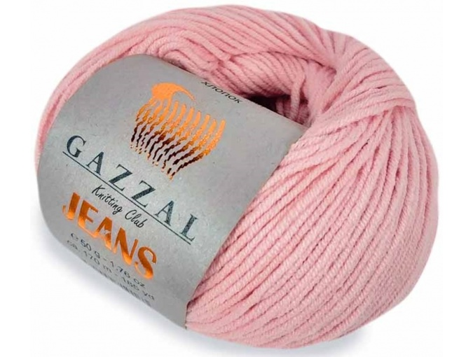 Gazzal Jeans, 58% Cotton, 42% Acrylic 10 Skein Value Pack, 500g фото 17