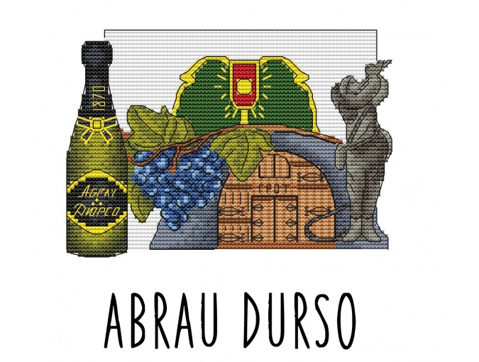 Abrau-Durso Cross Stitch Pattern фото 1
