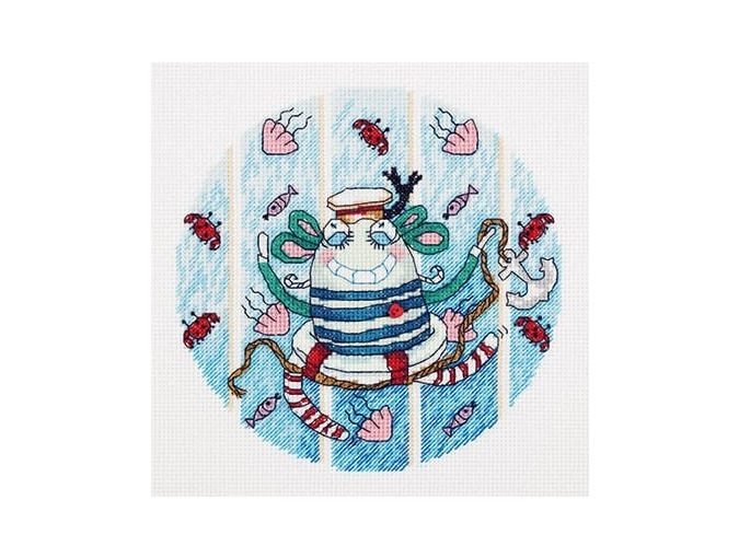 Monster of Travel Cross Stitch Kit фото 1