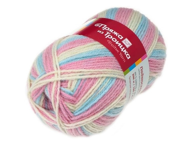 Troitsk Wool Countryside Print, 50% wool, 50% acrylic 10 Skein Value Pack, 1000g фото 53