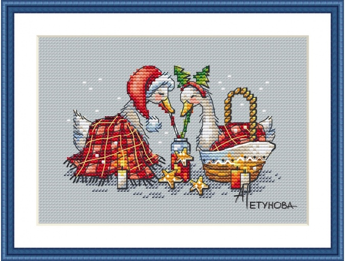 Better Together Cross Stitch Pattern фото 1