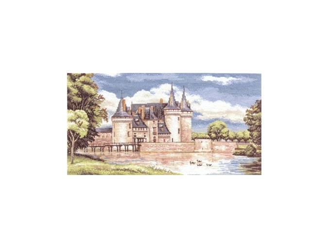 Chateaux in the Loire Valley Cross Stitch Kit фото 1