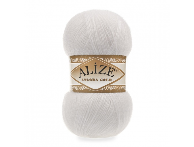 Alize Angora Gold, 10% Mohair, 10% Wool, 80% Acrylic 5 Skein Value Pack, 500g фото 14