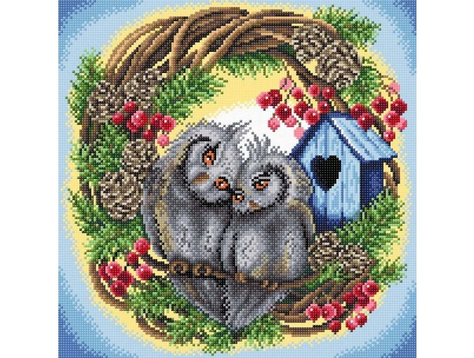 Owl Devotion Diamond Painting Kit фото 1