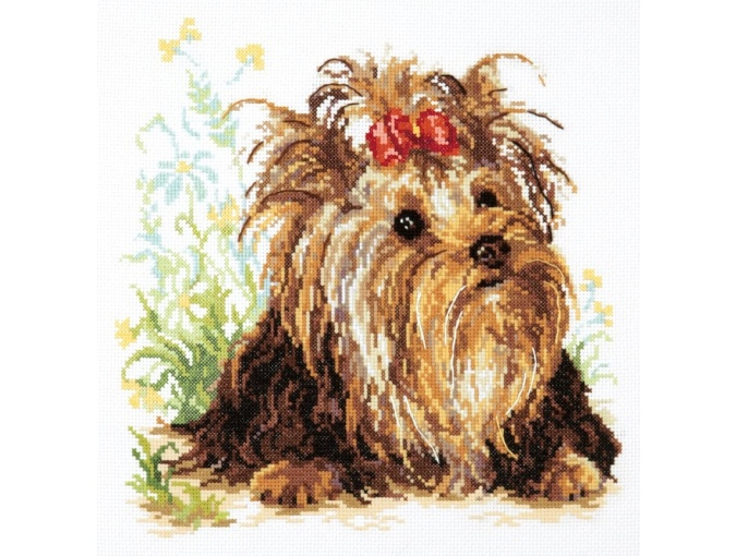 Yorkshire Terrier Cross Stitch Kit фото 1