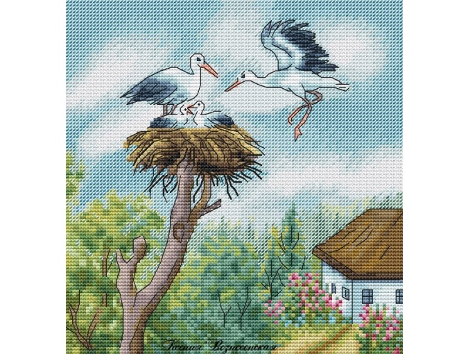Treasurer of the Residence Cross Stitch Pattern фото 1