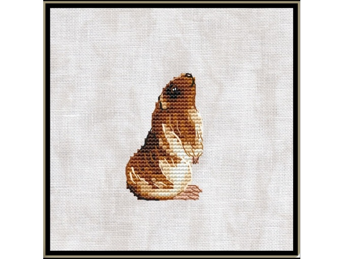 Guinea Pig Cross Stitch Pattern фото 1