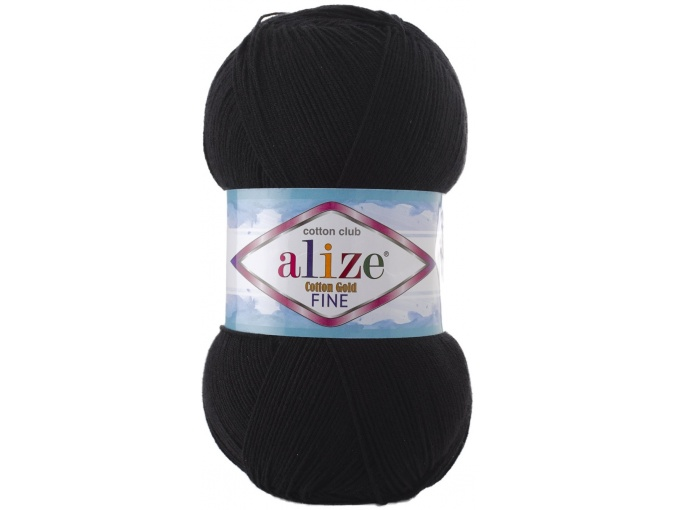 Alize Cotton Gold Fine 55% cotton, 45% acrylic 5 Skein Value Pack, 500g фото 9