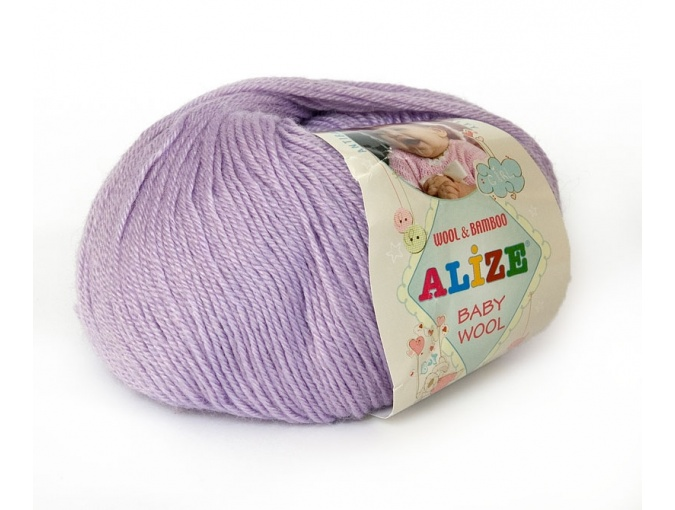 Alize Baby Wool, 40% wool, 20% bamboo, 40% acrylic 10 Skein Value Pack, 500g фото 21