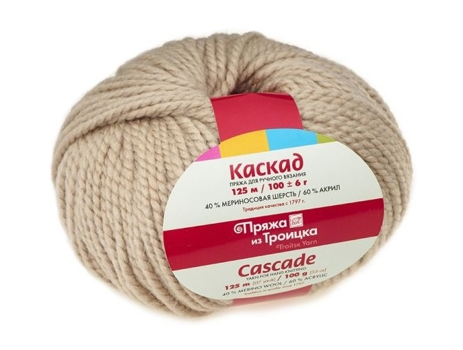 Troitsk Wool Cascade, 40% wool, 60% acrylic 10 Skein Value Pack, 1000g фото 12