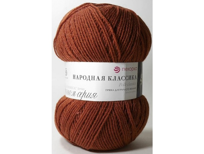Pekhorka Folk Classics, 30% Wool, 70% Acrylic 5 Skein Value Pack, 500g фото 23