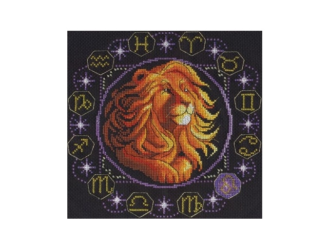 Zodiac signs. Leo Cross Stitch Kit фото 1