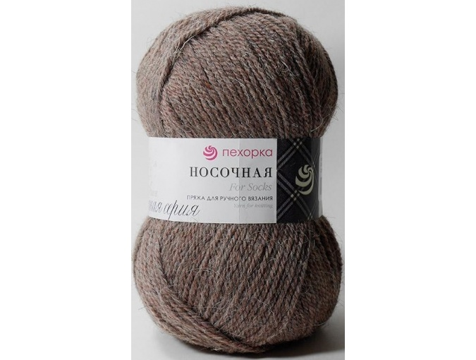 Pekhorka For Socks, 50% Wool, 50% Acrylic 10 Skein Value Pack, 1000g фото 45