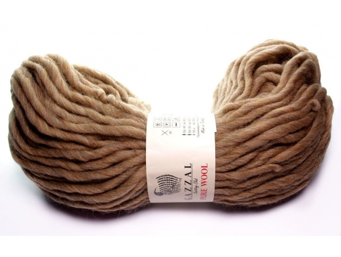 Gazzal Pure Wool-4, 100% Australian Wool, 4 Skein Value Pack, 400g фото 7