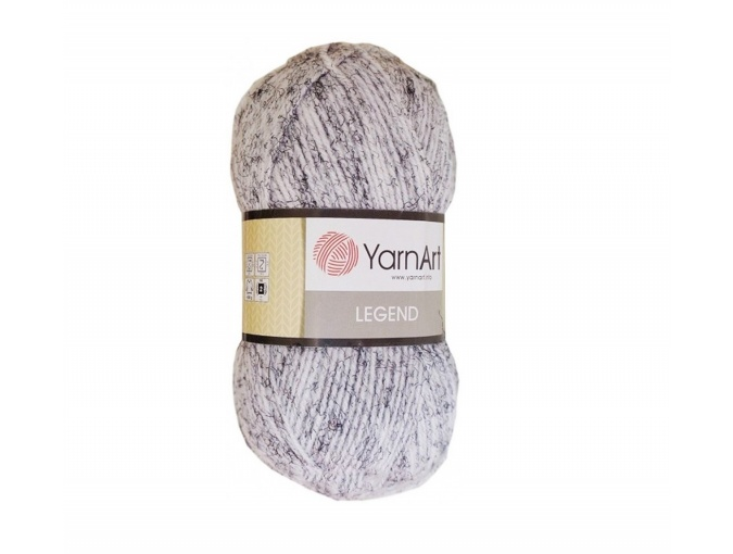 YarnArt Legend 25% Wool, 65% Acrylic, 10% Viscose, 5 Skein Value Pack, 500g фото 1