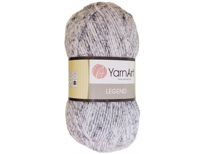 YarnArt Legend 25% Wool, 65% Acrylic, 10% Viscose, 5 Skein Value Pack, 500g фото 8