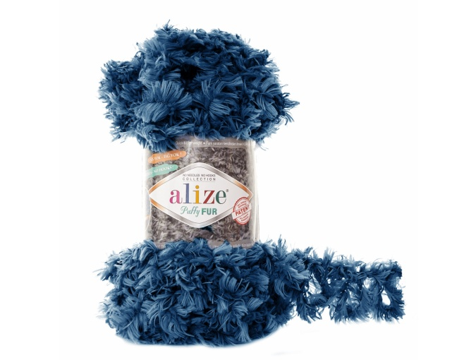 Alize Puffy Fur, 100% Polyester 5 Skein Value Pack, 500g фото 12