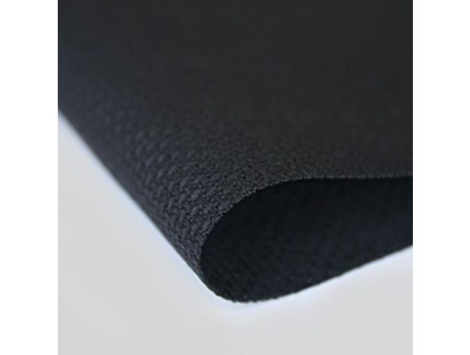 14 Count Stern-Aida Fabric by Zweigart 3706/720 Black фото 1