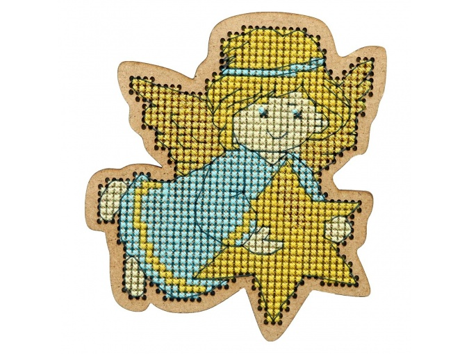 Christmas Toys. Little Angel Cross Stitch Kit фото 1