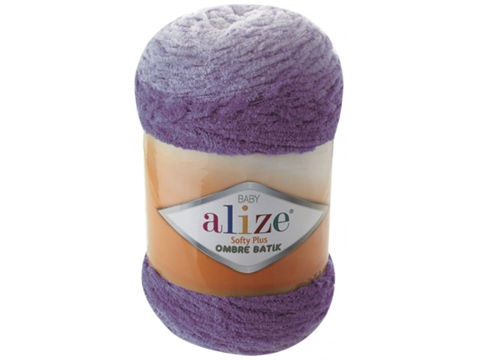Alize Softy Plus Ombre Batik, 100% Micropolyester 1 Skein Value Pack, 500g фото 11
