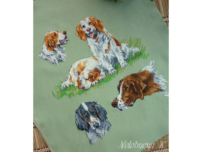 Dog Sampler 1 Cross Stitch Pattern фото 2