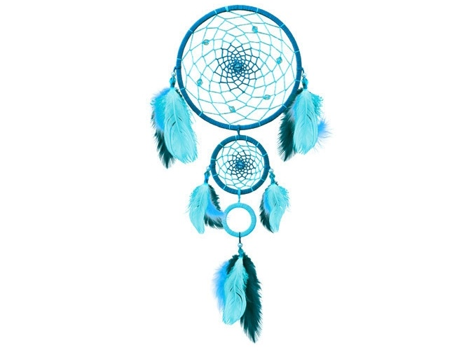Turquoise Dreamcatcher Weaving Kit фото 1