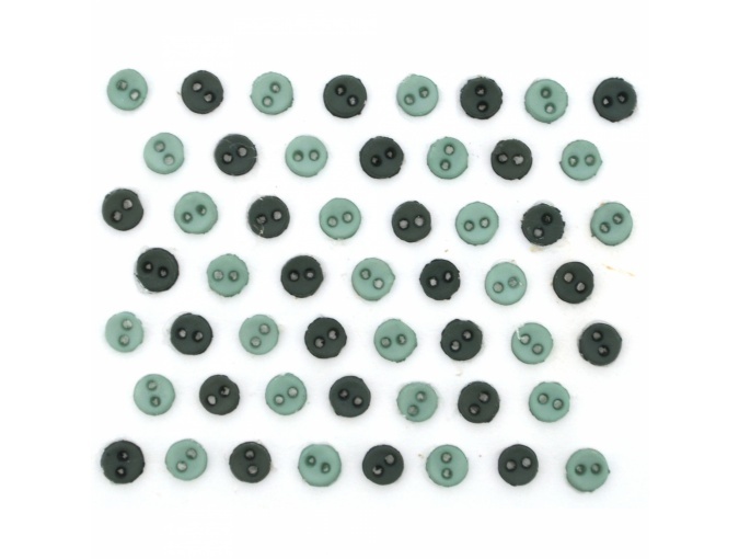 MM Round Ivy Set of Decorative Buttons фото 1