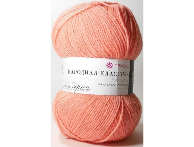Pekhorka Folk Classics, 30% Wool, 70% Acrylic 5 Skein Value Pack, 500g фото 14