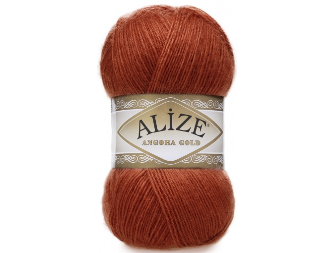Alize Angora Gold, 10% Mohair, 10% Wool, 80% Acrylic 5 Skein Value Pack, 500g фото 9