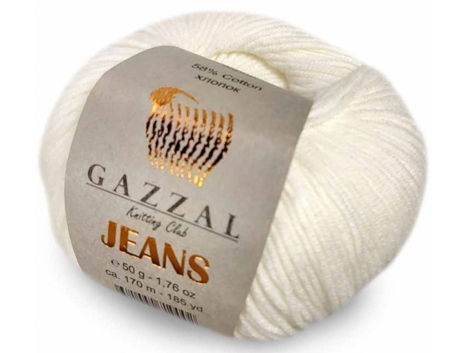 Gazzal Jeans, 58% Cotton, 42% Acrylic 10 Skein Value Pack, 500g фото 2
