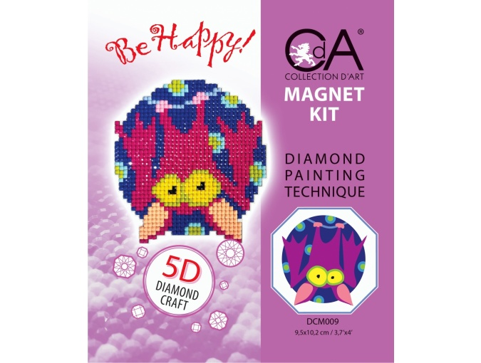 Bat Magnet Diamond Painting Kit фото 2