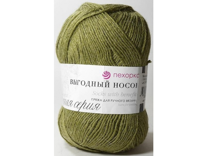 Pekhorka Socks with benefits, 40% Wool, 60% Acrylic 5 Skein Value Pack, 500g фото 12
