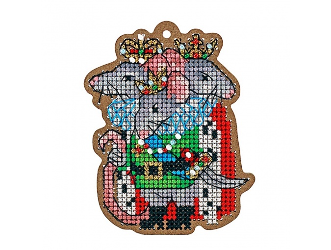 Rat King Original Toy Cross Stitch Kit фото 1
