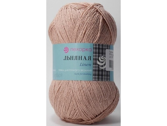Pekhorka Linen, 55% Linen, 45% Cotton, 5 Skein Value Pack, 500g фото 18
