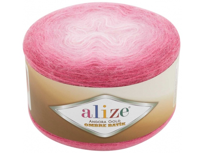 Alize Angora Gold Ombre Batik, 20% Wool, 80% Acrylic 4 Skein Value Pack, 600g фото 16