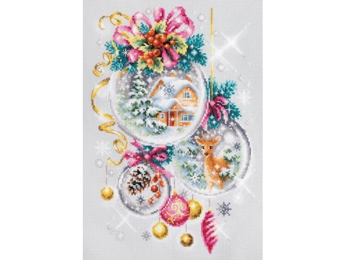 A Christmas Fairy Tail Cross Stitch Kit фото 4