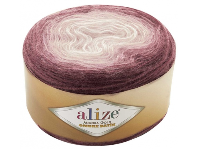 Alize Angora Gold Ombre Batik, 20% Wool, 80% Acrylic 4 Skein Value Pack, 600g фото 9