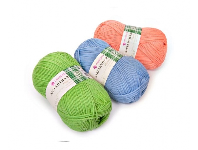 Pekhorka Elegant, 100% Merino Wool 10 Skein Value Pack, 1000g фото 1