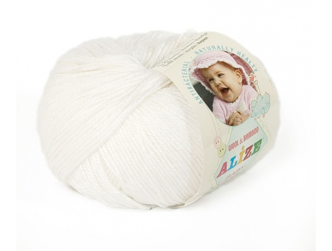 Alize Baby Wool, 40% wool, 20% bamboo, 40% acrylic 10 Skein Value Pack, 500g фото 9